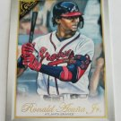 Ronald Acuna Jr 2019 Topps Gallery Base Card