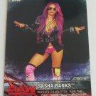 Sasha Banks 2017 Topps WWE Womens Division WWE Matches Moment Base Card