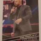 COO Triple H 2018 Topps WWE Evolution Insert Card