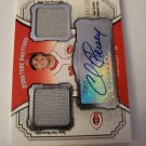 Chris Heisey 2012 Topps Museum Collection Signature Swatches SN 88/25 Jersey Autograph Card