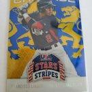 Francisco Lindor 2015 USA Stars & Stripes Crusade Blue Insert Card
