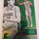 Nikola Jokic 2017-18 Essentials Green Insert Card