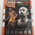 Wilt Chamberlain 2013-14 NBA Hoops Hall Of Fame Heroes Insert Card
