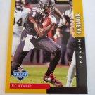 Kelvin Harmon 2019 Score NFL Draft Gold Insert Card