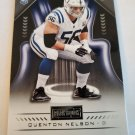 Quenton Nelson 2018 Playbook Rookie Card