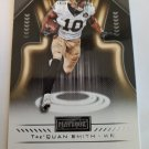 Tre'Quan Smith 2018 Playbook Rookie Card