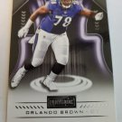 Orlando Brown 2018 Playbook Rookie Card