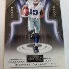 Michael Gallup 2018 Playbook Rookie Card