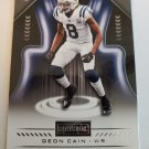 Deon Cain 2018 Playbook Rookie Card