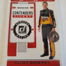 Clint Bowyer 2020 Donruss Contenders Insert Card