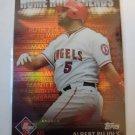 Albert Pujols 2012 Topps Prime Nine Home Run Legends Insert Card