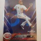 Billy Hamilton 2018 Opening Day Blue Foil Insert Card