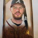 Freddie Freeman 2018 Topps Gallery Canvas Insert Card