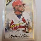 Yadier Molina 2019 Topps Gallery National Baseball Card Day Insert Card