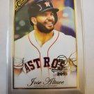 Jose Altuve 2019 Topps Gallery National Baseball Card Day Insert Card