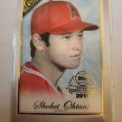 Shohei Ohtani 2019 Topps Gallery National Baseball Card Day Insert Card