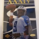 Steve McNair 1999 CE Masters Quest SN 880/3000 Insert Card