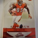 Chad Johnson 2008 Absolute Spectrum Red Retail Insert Card