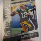 Aaron Rodgers 2019 Unparalleled In The Moment Insert Card