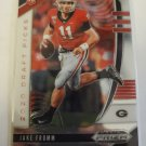 Jake Fromm 2020 Prizm Draft Rookie Card