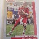 Ryan Finley 2019 Contenders Draft Game Day Ticket Insert Card