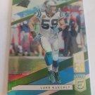 Luke Kuechly 2019 Elite Green Insert Card