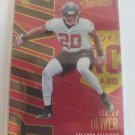 Isaiah Oliver 2018 Absolute Spectrum Gold Rookie Card