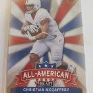 Christian McCaffrey 2017 Leaf Draft All American Insert Card
