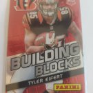 Tyler Eifert 2013 Panini Building Blocks Red SN 3/99 Insert Card