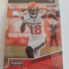 Damion Ratley 2018 Playoff Kickoff Rookie Card