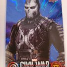 Crossbones 2016 Captain America Civil War WalMart Blue Foil Insert Card