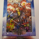 Infinity Countdown #5 2019 Marvel Annual 2018 Infinity Wars Comic Covers Insert Card