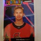 Josh Norris 2020-21 Upper Deck UD Portraits Rookies Insert Card