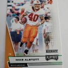 Mike Alstott 2020 Playoff Kickoff Insert Card