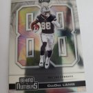 CeeDee Lamb 2020 Playoff Behind The Numbers Insert Card