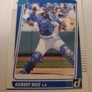 Keibert Ruiz 2021 Donruss Rookie Card