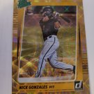 Nick Gonzales 2021 Donruss Rated Prospects SN 96/999 Insert Card