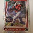 Kristian Robinson 2021 Donruss Rated Prospects Rapture Insert Card