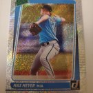 Max Meyer 2021 Donruss Rated Prospects Rapture Insert Card