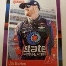 Jeb Burton 2021 Donruss Retro Purple SN 33/49 Insert Card