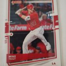 Mike Trout 2020 Donruss Variation Insert Card