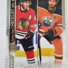 Patrick Kane & Leon Draisaitl 2020-21 Upper Deck Base Card