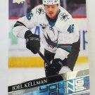 Joel Kellman 2020-21 Upper Deck YG Rookie Card