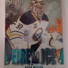 Ryan Miller 2013-14 Select Fire On Ice Insert Card