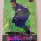 Elias Pettersson 2020-21 Upper Deck Dazzlers Green Insert Card