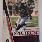 Ronald Curry 2007 Absolute Retail Spectrum Red Insert Card