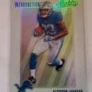 Kerryon Johnson 2018 Absolute Introductions Insert Card