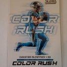 Christian McCaffrey 2018 Score Color Rush Insert Card