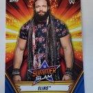 Elias 2019 Topps WWE SummerSlam Blue SN 35/99 Insert Card