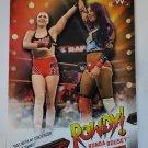Ronda Rousey 2019 Topps WWE Rousey Spotlight Insert Card #36